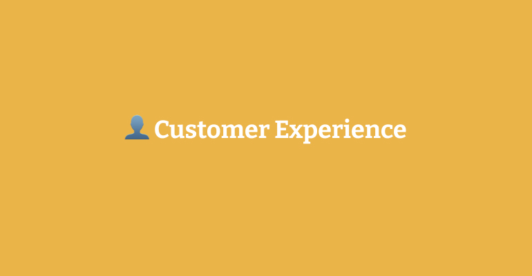 """Featured image for """"Customer Experience"""""""